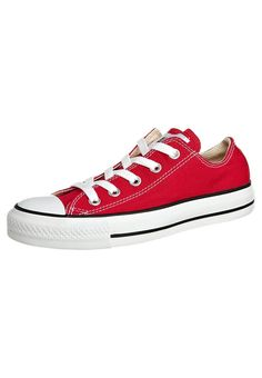Converse CHUCK TAYLOR ALL STAR Sneaker low red Schuhe bei Zalando.de   Obermaterial: Textil, Innenmaterial: Textil, Sohle: Kunststoff, Decksohle: Textil   Schuhe jetzt versandkostenfrei bei Zalando.de bestellen!