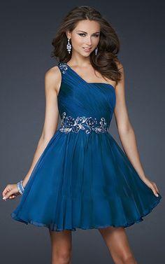 vestidos de graduacion cortos azul marino - Buscar con Google