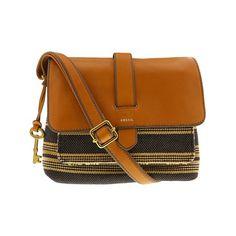 Noelle Vegan Faux Leather Accordion Crossbody Handbag in Orange