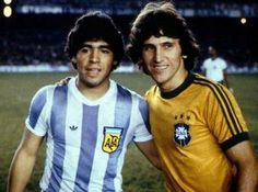 Maradona ... Zico. To put a face with the move