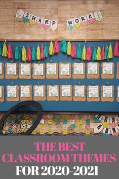 The best classroom themes for your elementary class this year including colorful rainbow, cactus and camping theme. Tons of inspiration to make the theme come to life!  These are perfect for preschool, kindergarten as well as the older students.  #classroomthemes