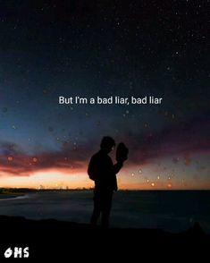 Bad Liar Lyrics, Bts Song Lyrics, Imagine Dragons Lyrics, Believer Imagine Dragons, Music Video Song, Music Songs, Kari Jobe, Soul Songs, Lyrics Aesthetic
