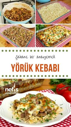 How to make Yörük Kebabı Recipe (with video)? In the book of.- How to make Yörük Kebabı Recipe (with video)? In the book of people … - Lunch Recipes, Easy Dinner Recipes, Meat Recipes, Chicken Recipes, Cooking Recipes, Healthy Recipes, Italian Chicken Dishes, Mediterranean Dishes, Turkish Recipes