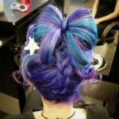 Anime-esque Hair Art: Source: Reddit user brofle
