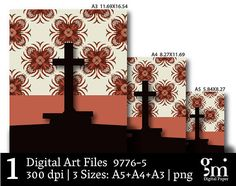 Digital Cross Cross Art Digital Art Print Digital Art