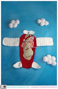 Ravelry: Prop Plane Blanket/Rug Crochet Pattern, plane blanket, plane rug, nursery decor, newborn photo prop, crochet photo prop, airplane pattern by First Twin Company