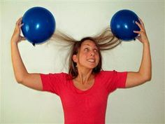 Everybody Loves To Have Fun Static Electricity That Is Unless You Like Your Hair