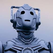 Image result for cyberman head