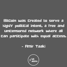 Free and equal access is a necessity! Tech Quotes, Crypto Money, Investors, Blockchain, Lifestyle, Big, Free