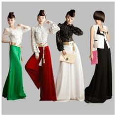 2012 New Arrival Europe style Full Long Maxi Dress Skirt casual long Skirts High Waist pant dress Free Shipping $49.89