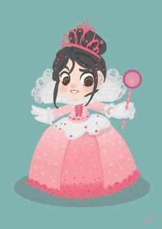 Princess vanelope and Agnes are practically the same person!!!! They are soooooooooo alike.