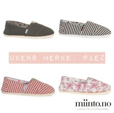 This weeks brand: PAEZ   http://www.miinto.no/brands/paez