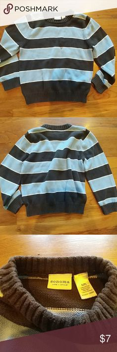 💣 Boy's size 7 sweater Sonoma boy's size 7 sweater. Excellent pre-loved condition. Priced to sell. 30% off a bundle of three or more items Everything is negotiable Smoke free home Pet free home All items deserve a 2nd chance at happiness Currently not trading Sonoma Shirts & Tops Sweaters