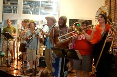 Bulltown Strutters get the crowd going at Fullsteam