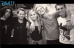 """Photo: Dylan Riley Snyder With His """"Kickin' It"""" Family April 16, 2014"""