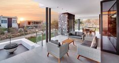 Contemporary Private Residence in Johannesburg South Africa