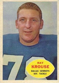 1960 Topps #40 Ray Krouse Front