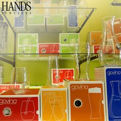 Award-winning govino products are made from a flexible, BPA free polymer that looks and performs like fine glassware.