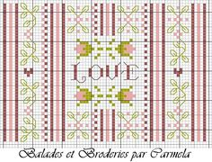 a great blog with some cute cross stitch free charts ! this one is really sweet !