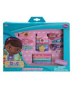 Doc McStuffins Hair Accessory Box Set #zulily #zulilyfinds