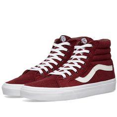 VANS VANS VA38FIU9ELAMPIN - RED.  vans  shoes  ddd263be1