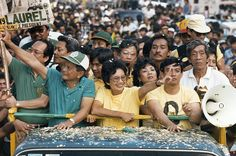 Political change in Manila