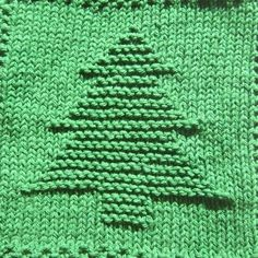 "This tree is just waiting for Christmas! The knit dishcloth picture is a solid design of a Christmas tree with a base and a gradual ""stair-step"" taper to a point. **All purchases are for a downloadable PDF file of the knitting pattern and not for the actual dishcloth.** The design is symmetrical so no adjustments need to be made for lefty knitters. The picture is created in garter stitch on a stockinette background. The border is seed stitch, but the pattern is written so that you may…"