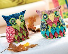 Patchwork Owls