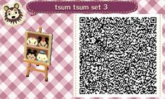 A wide choice of qr codes for Animal Crossing New Leaf and Happy Home Designer Animal Crossing Qr Codes Clothes, Animal Crossing Game, Acnl Pfade, Acnl Qr Code Sol, Acnl Paths, Dream Code, Motif Acnl, Ac New Leaf, Happy Home Designer