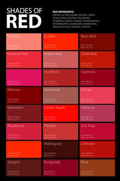 shades of red color palette poster # poster # color # shades # palette … – Schreiben – palette Red Colour Palette, Colour Schemes, Color Combos, Red Paint Colors, Colours, Shades Of Red Color, Different Shades Of Red, Colour Shades With Names, Red Color Names