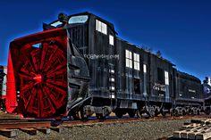 Snow Plow train in Golden, CO Railroad museum.