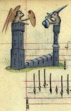 Copenhagen Chansonnier, 1400s. Det Kongelige Bibliotek