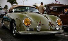 Porsche Speedster, great color