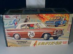 1/32 Airfix #C7 SUNBEAM RAPIER model car kit NEW OLD STOCK UNBUILT COMPLETE MIB