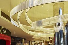 Crown Casino Melbourne - Red Design Group Red Design, Hospitality, Opera House, Melbourne, Crown, Ceiling Lights, Building, Home Decor, Corona