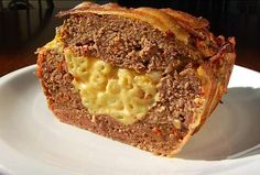 Mac 'n Cheese Meatloaf