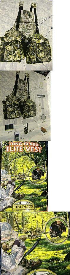 Vests 178080: Fieldline Deluxe Long Beard Elite Vest Camo Mossy Oak Turkey Upland Hunting 2C12 -> BUY IT NOW ONLY: $44.99 on eBay!