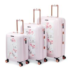 Oriental Blossom Luggage Collection