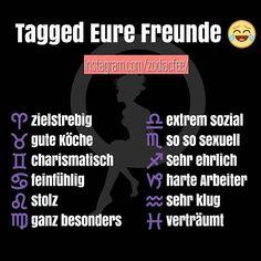 Welches Sternzeichen bist du?  ♈ #Widder  ♉ #Stier  ♊ #Zwillinge  ♋ #Krebs  ♌ #Löwe  ♍…