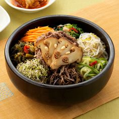 Korean food: Bibimbap   This is DEFINITELY something everybody needs to try at least once!