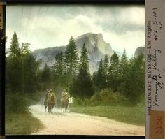 John Muir and Teddy Roosevelt, Yosemite Valley, 1903