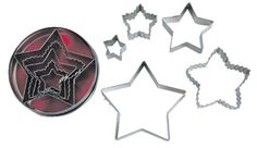 R  M Star 5 Piece Cookie Cutter Set with Gift Box -- Read more at the image link.