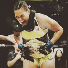 And New!!! UFC Woman's bantamweight Champion Amanda Nunes
