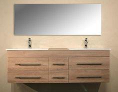 Persoons badkamermeubel cm sanitair en badkamerinrichting