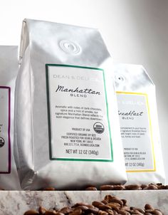 Dean & DeLuca, the beloved retailer renowned for its curated selection of artisanally made gourmet food, reveals sleek new coffee packaging.