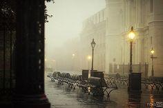 Foggy Day, New Orleans, Louisiana  photo via goatman