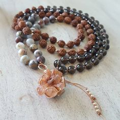 I'm loving these new aragonite clusters! This one reminds me of a hibiscus flower! 🌺 *** now listed in the shop! Pearl Necklace, Beaded Necklace, Hibiscus Flowers, Im In Love, Pearls, Shopping, Instagram, Jewelry, Suitcase