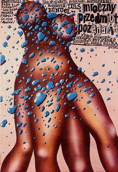 CET OBSCURE OBJET DU DÉSIR de Luis Bunuel (1977) #poster #affiche #polonaise #polish #bunuel #pologne #poland  #french #film #france #francais