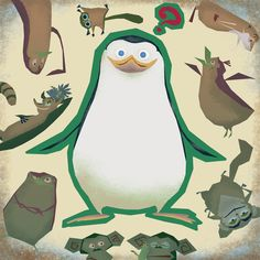 Madagascar Movie, Penguins Of Madagascar, Looney Tunes, Game Art, Disney Characters, Fictional Characters, Childhood, Deviantart, Cartoon