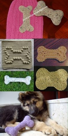 Posh Pooch Designs Dog Clothes: Dog Bone Crochet Pattern Round-up